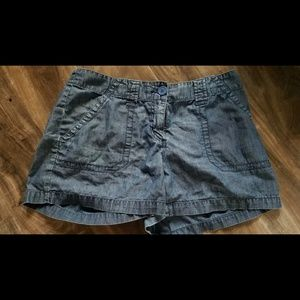 New York & Company Gray Shorts Classic Rise